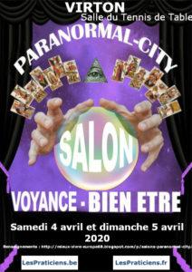 PARANORMAL CITY Salon Voyance-Bien Être 2020 de Virton @ Salle du Tennis de Table | Virton | Wallonie | Belgium