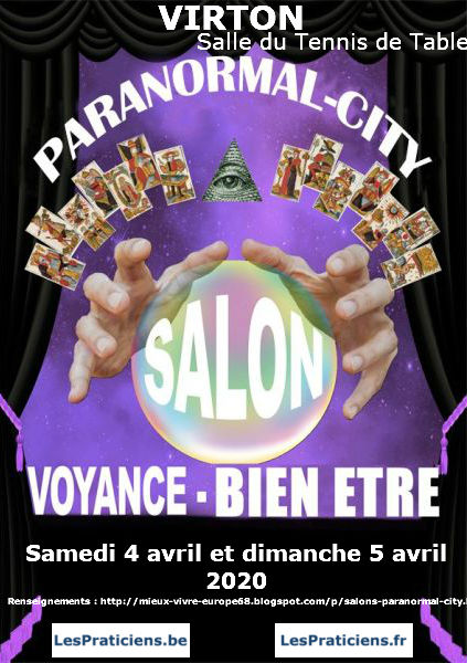 PARANORMAL CITY Salon Voyance-Bien Être 2020 de Virton