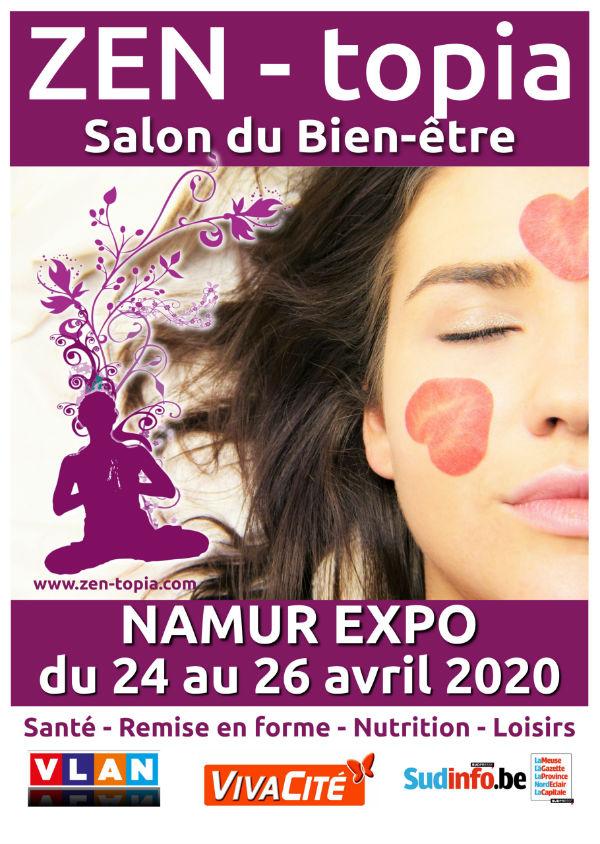 Zen-topia – Salon du Bien-être 2020 de Namur