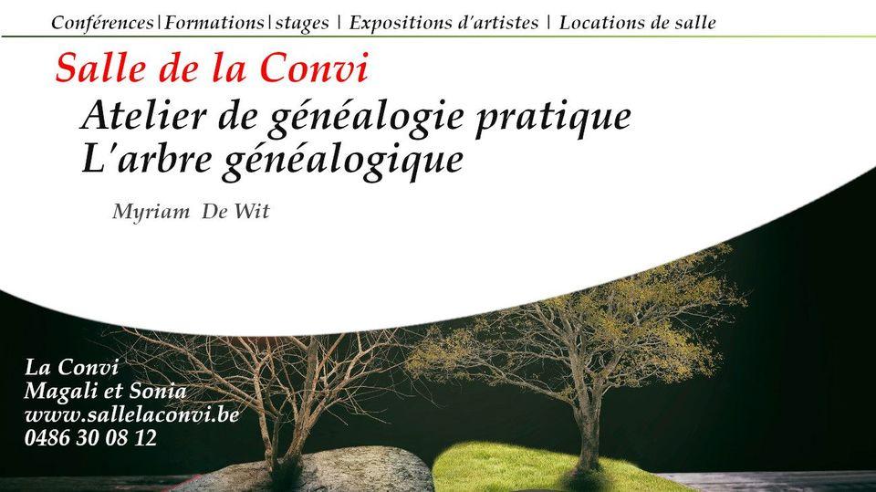 Atelier de généalogie : l'arbre généalogique
