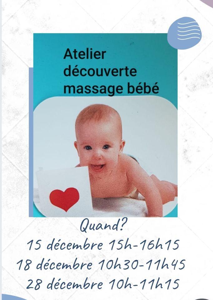 Atelier découverte massage bébé à 5640 Mettet