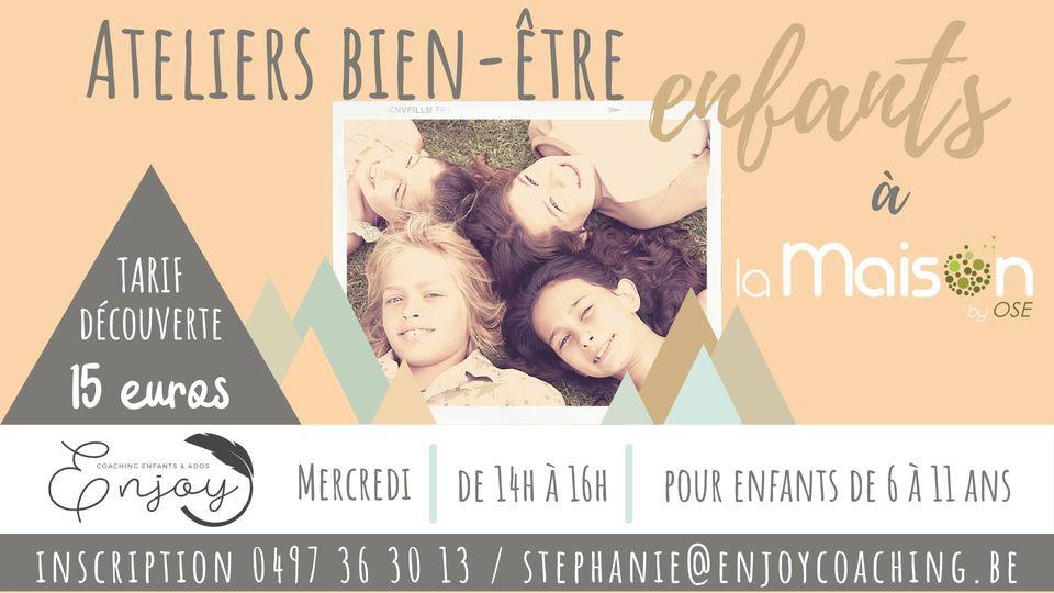 Ateliers bien-être pour enfants à 4800 Verviers
