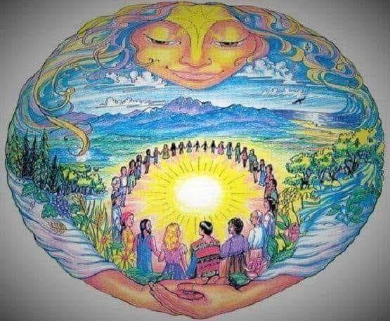 Cérémonie reveillon chamanique nouvel an