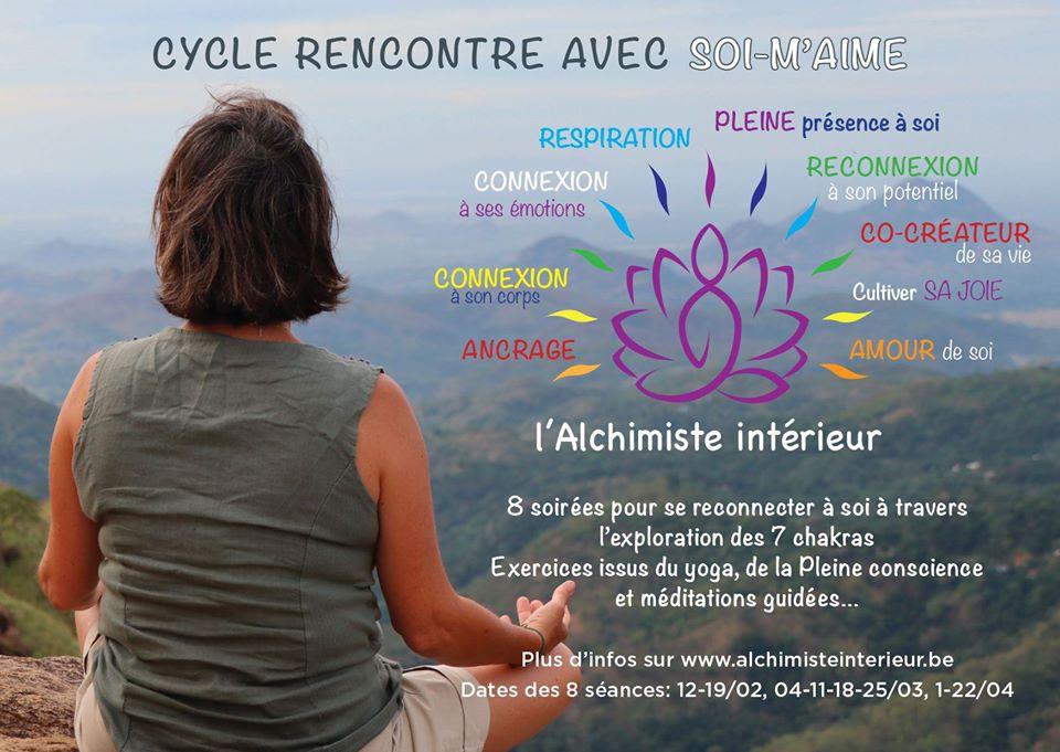 Cycle 8 soirées: Retrouver l'harmonie en équilibrant ses chakras