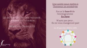 Focus sur la base 8 de l'ennéagramme (en ligne)