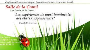 Expériences de mort imminente : des états (in)conscients? @ La Convi | Soumagne | Wallonie | Belgium