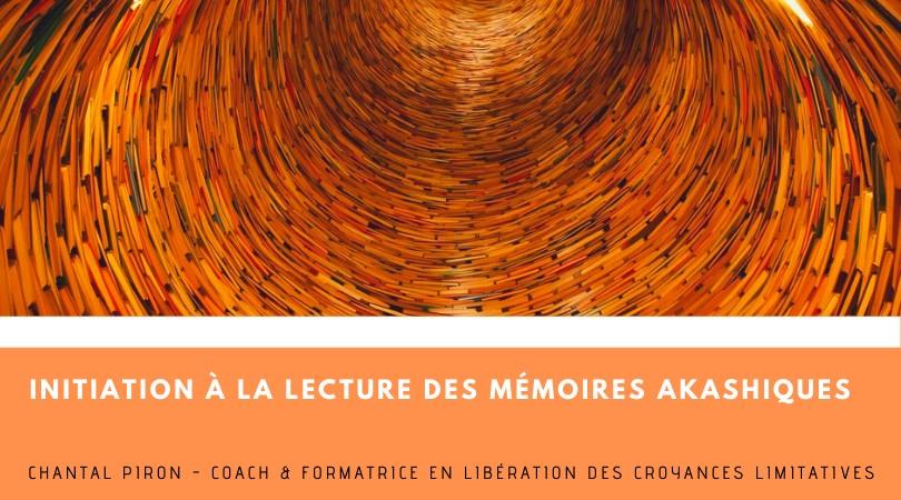 Formation à la lecture des mémoires akashiques