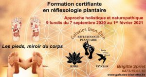 Formation Certifiante en Réflexologie Plantaire - Brabant Wallon @ Galaxies Bien-Être | Chaumont-Gistoux | Wallonie | Belgium