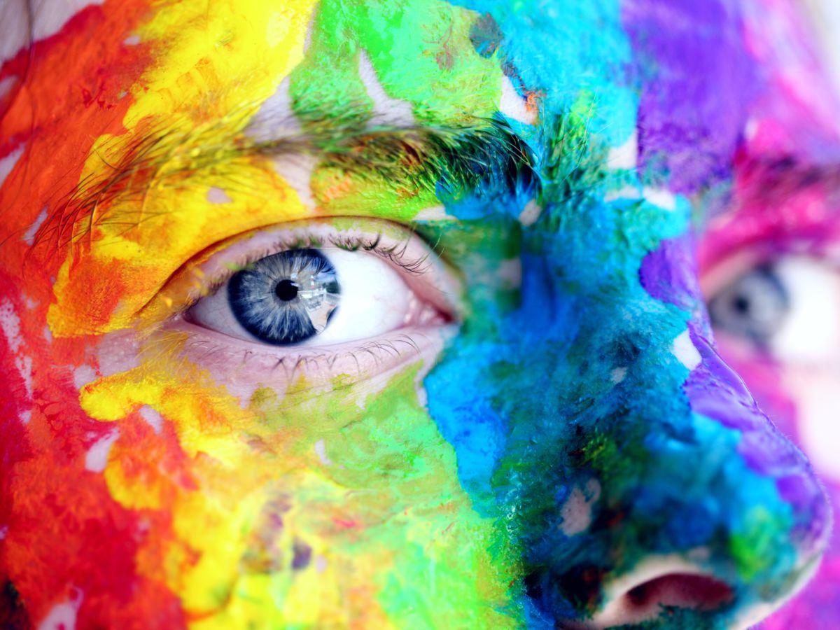 La vie en couleurs et en harmonie.