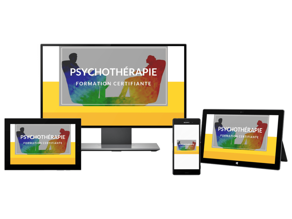 Formation en ligne certifiante en psychothérapie, obtenez votre certificat en psychothérapie, certification en psychothérapie