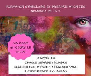 Formation Symbolisme et Interprétation des nombres de 1 à 9