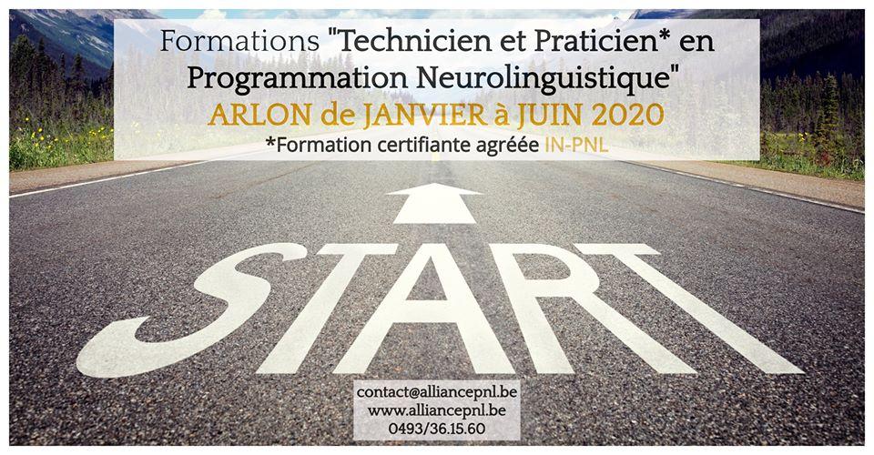 Formations Technicien et Praticien en PNL à ARLON 2020