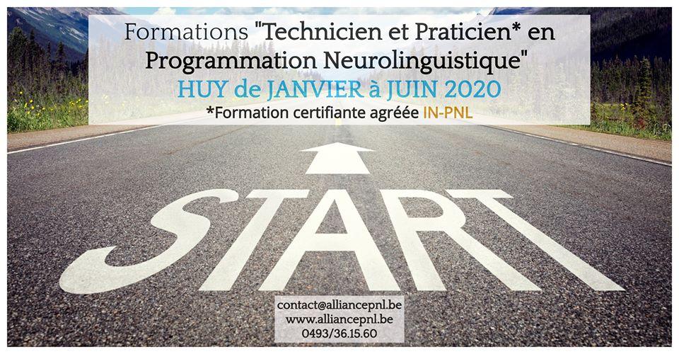 Formations Technicien et Praticien en PNL à HUY 2020