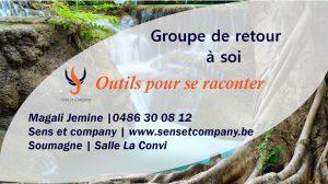 Groupe de retour à soi : outils pour se raconter @ La Convi | Soumagne | Wallonie | Belgium