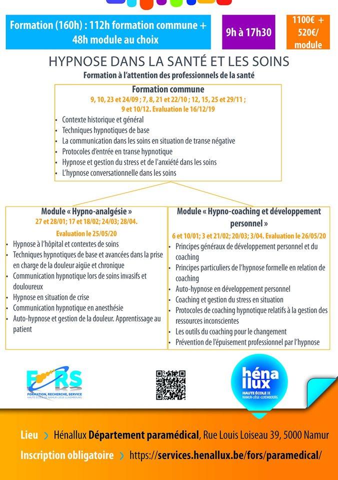 Formation Hypnose (Module Hypno-coaching et développement personnel)