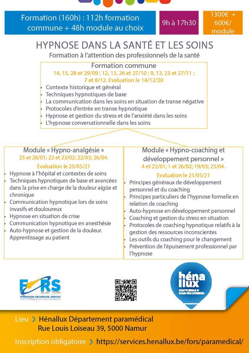 Hypnose (Module Hypno-coaching et développement personnel)