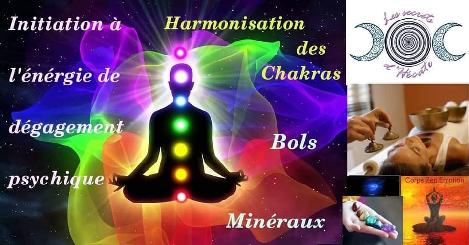 Initiation au dégagement psychique et harmonisation des Chakras