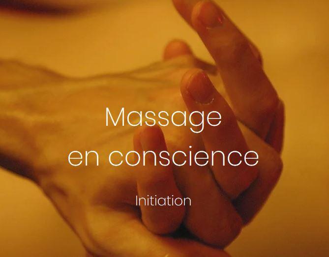 Initiation massage en conscience