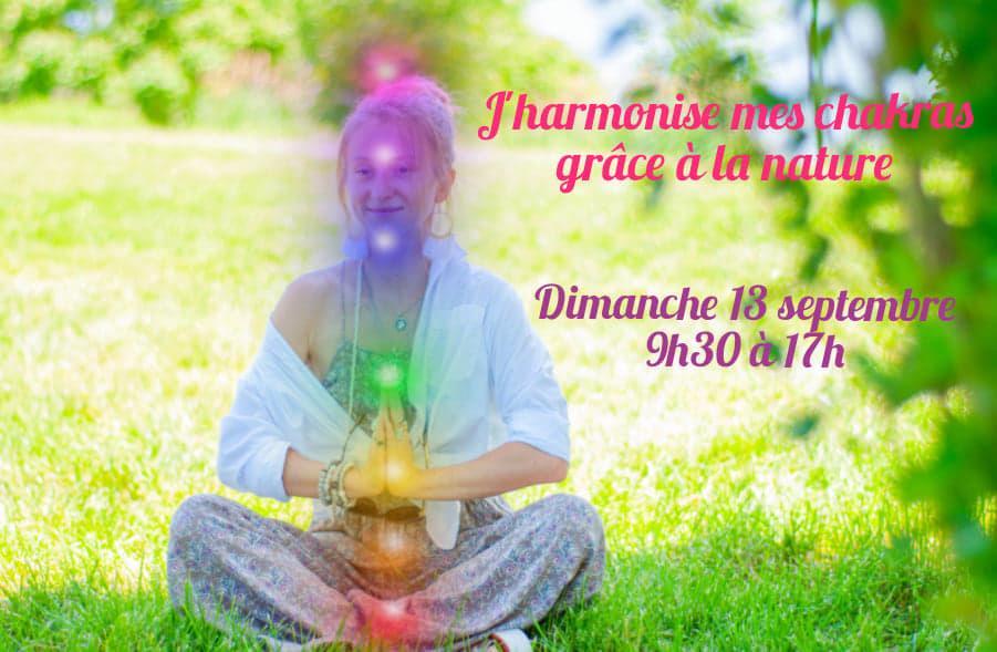 J'harmonise mes chakras grâce à la nature
