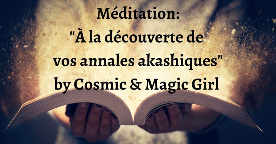 Méditation À La Découverte De Vos Annales Akashiques