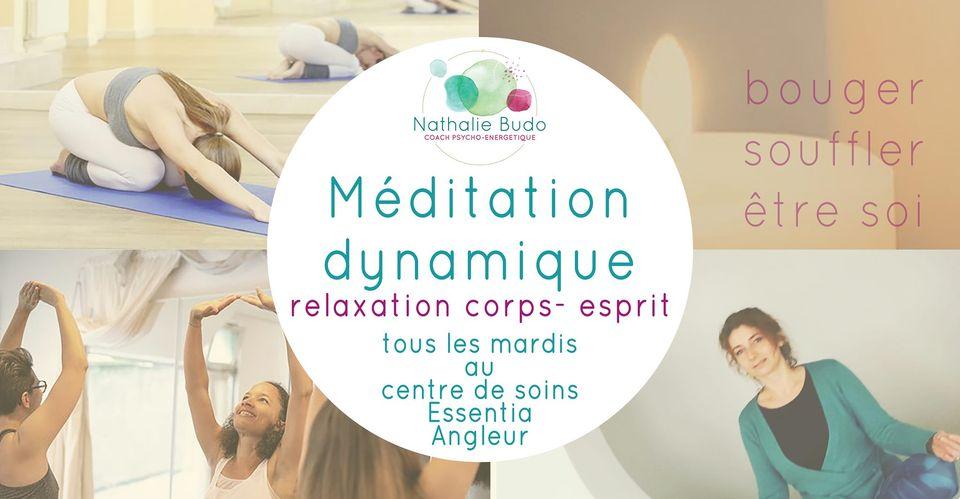 Méditation dynamique, relaxation corps-esprit à Angleur