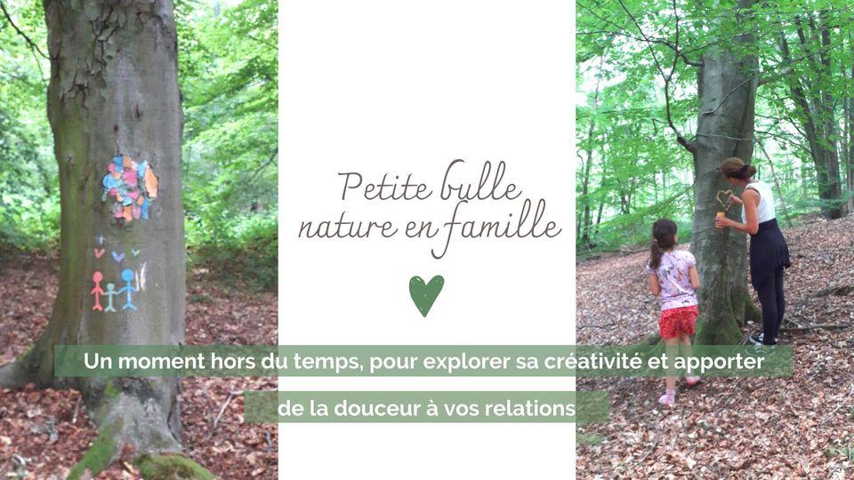 Petite bulle nature en famille à Braine-le-Comte