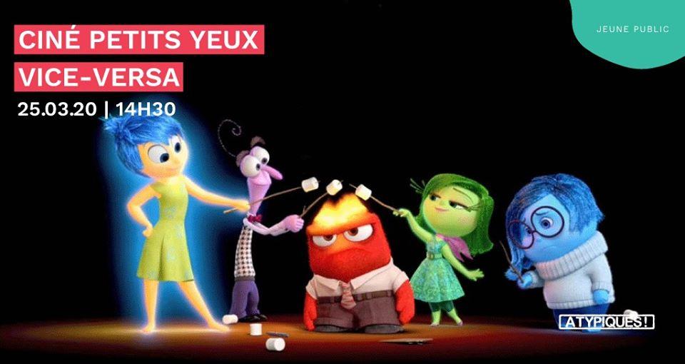 Projection du film Vice-versa à 1082 Bruxelles