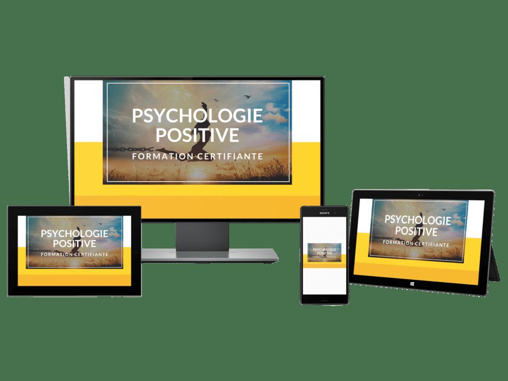 formation en ligne avec certification de Coach en Psychologie Positive