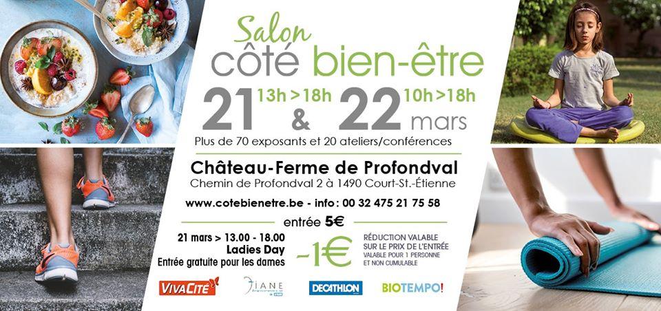 Salon Côté Bien-Être 2020 à Court-St-Etienne