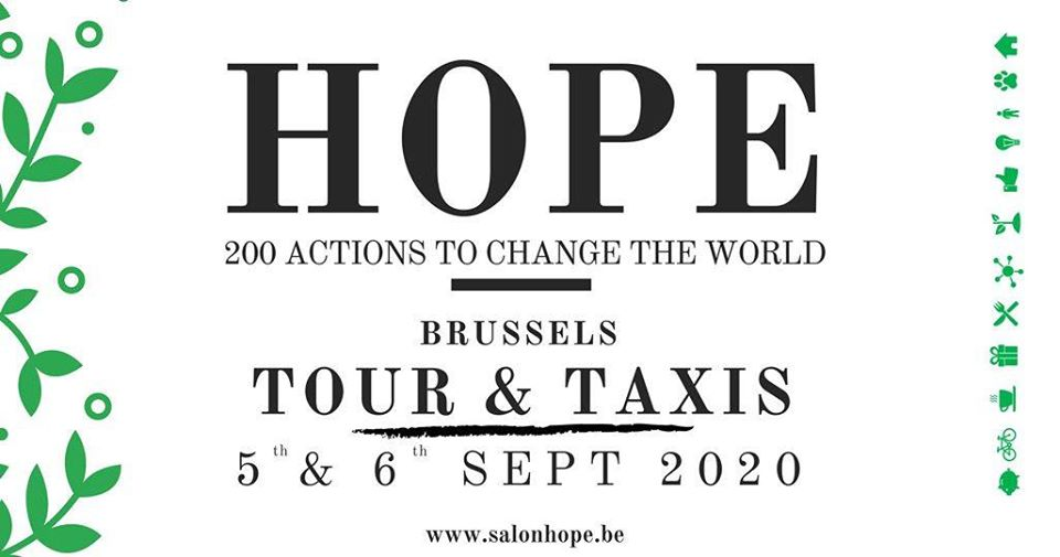 Salon Hope 200 actions to change  the world