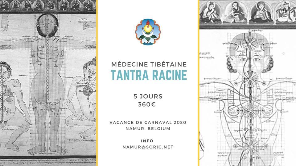 Cours Tantra Raçine : fondement en médecine tibétaine