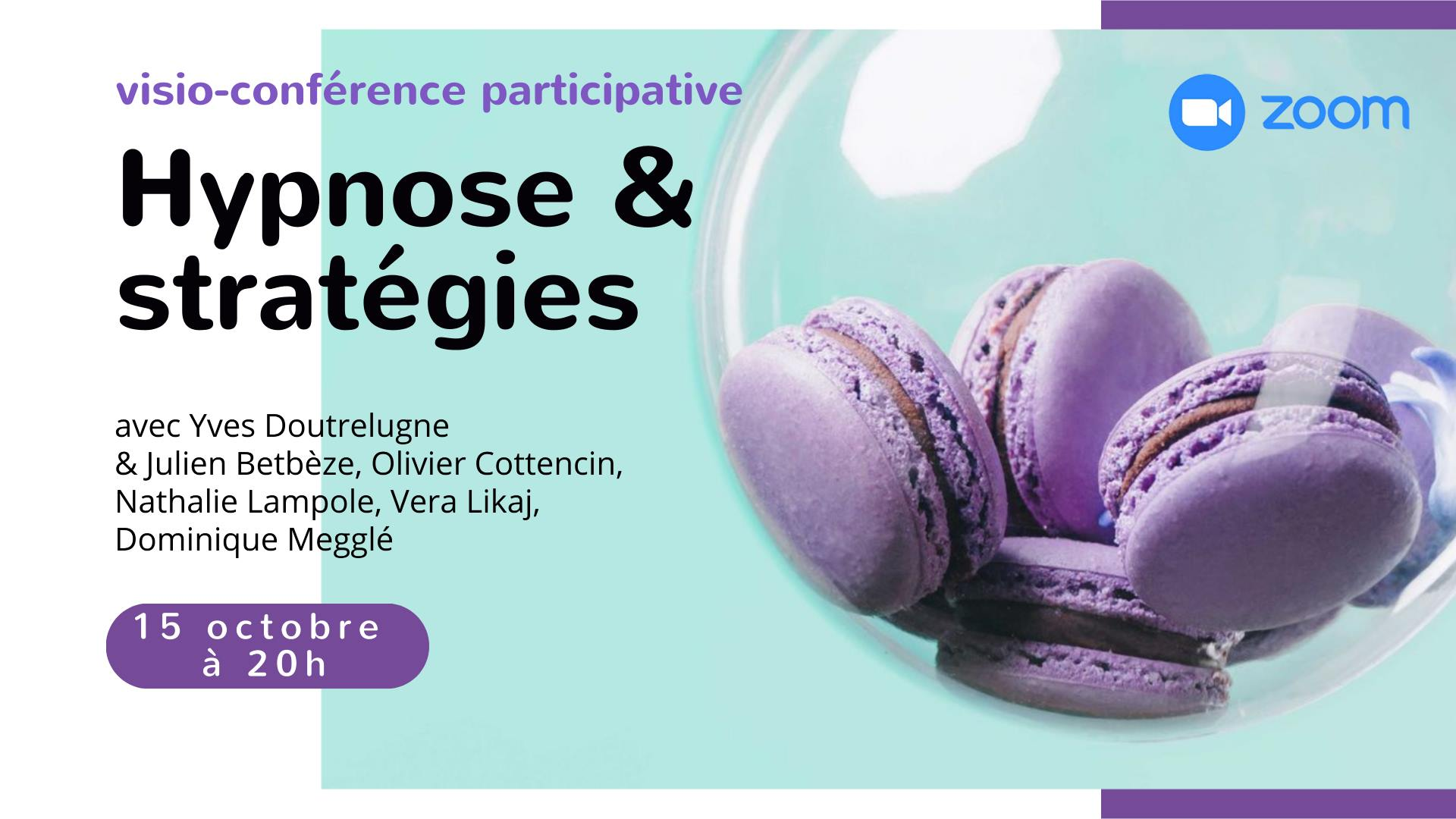 Visio-conférence hypnose et stratégies, 40 ans après Erickson