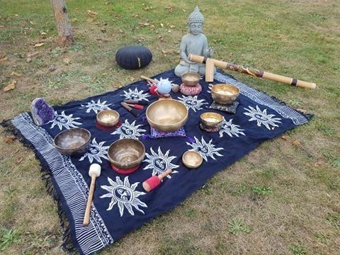 Voyage sonore aux bols tibétains