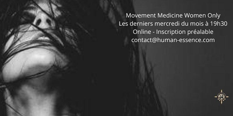 ZOOM Movement Medicine Online – Women Only